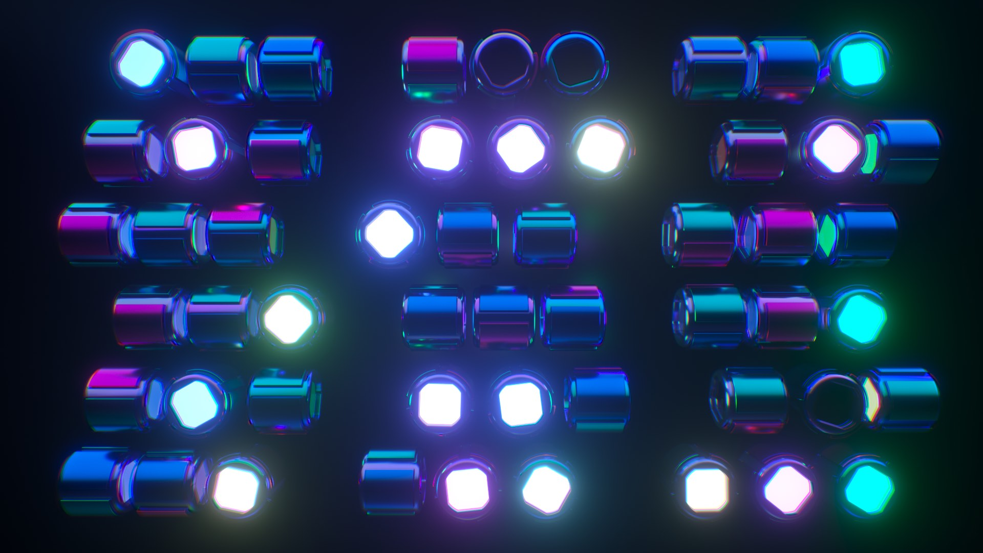 V J Free Vj Loops For Live Visuals Night Beams Hd
