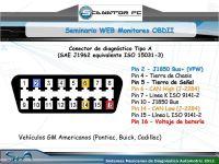 Seminario WEB Monitores OBDII. Sistemas Mexicanos de ...
