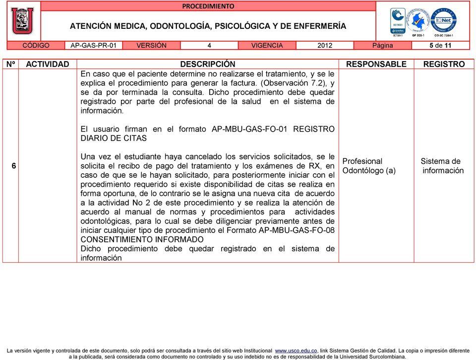 ATENCIÓN MEDICA, ODONTOLOGÍA, PSICOLÓGICA Y DE ENFERMERÍA - PDF