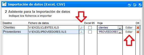 Importa tus datos a ClassicGes 6 desde ficheros en formato Excel o