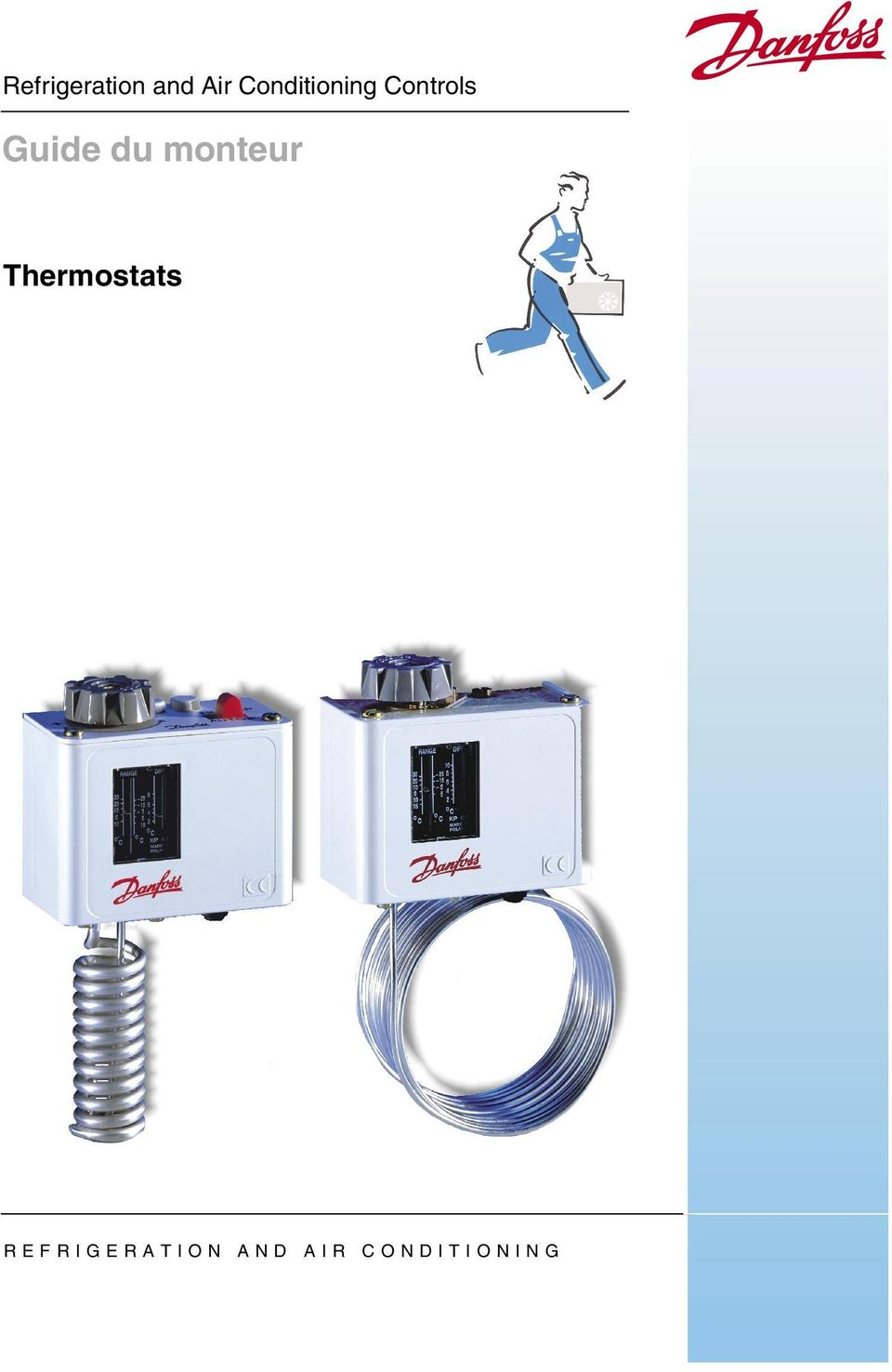 Thermostat Chambre Froide Guide Du Monteur Thermostats Pdf