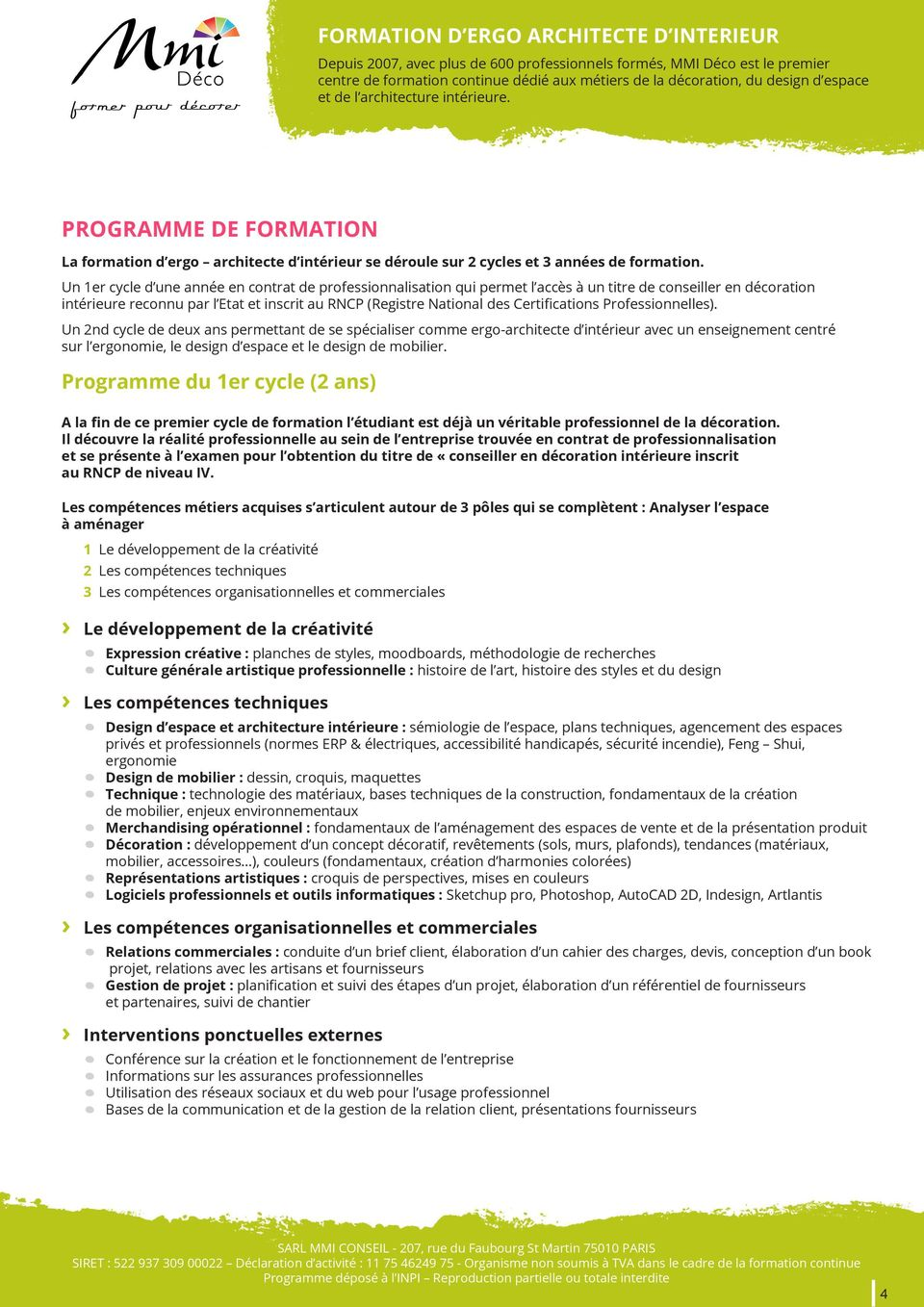 Devenir Architecte D'interieur à 40 Ans Formation D Ergo Architecte D Interieur Pdf