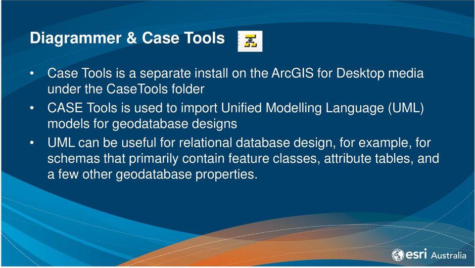 ArcGIS 101 Geodatabase Administration Gordon Sumerling