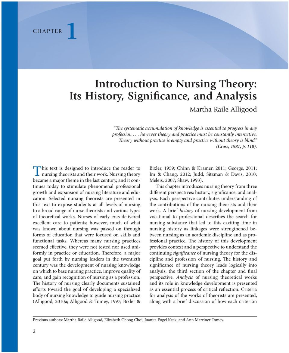 Evolution Of Nursing Theories Pdf Free Download