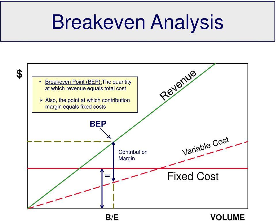 Breakeven Analysis Simple  Complex - PDF