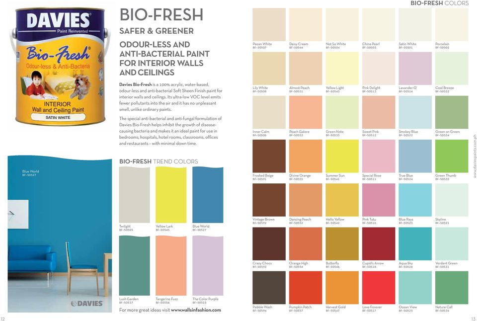 Fabulous paint colors that bring your home to life - PDF