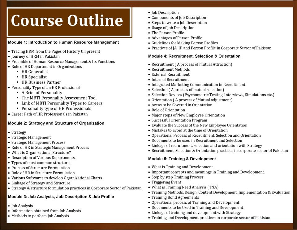 Add Colors of Excellence to Your HR Career CERTIFIED HUMAN RESOURCE
