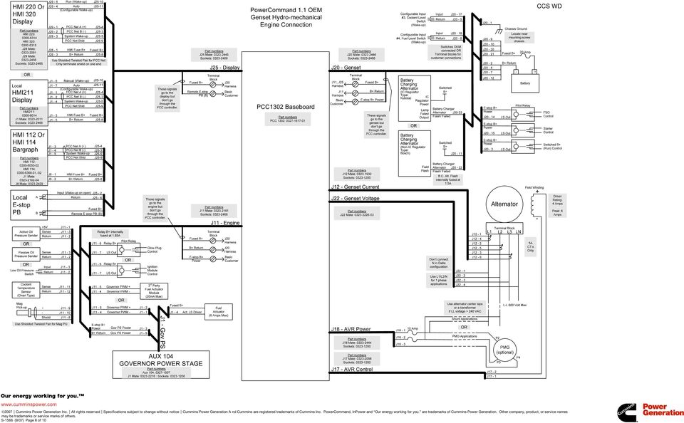 cummins generator wiring diagram pcc 3100
