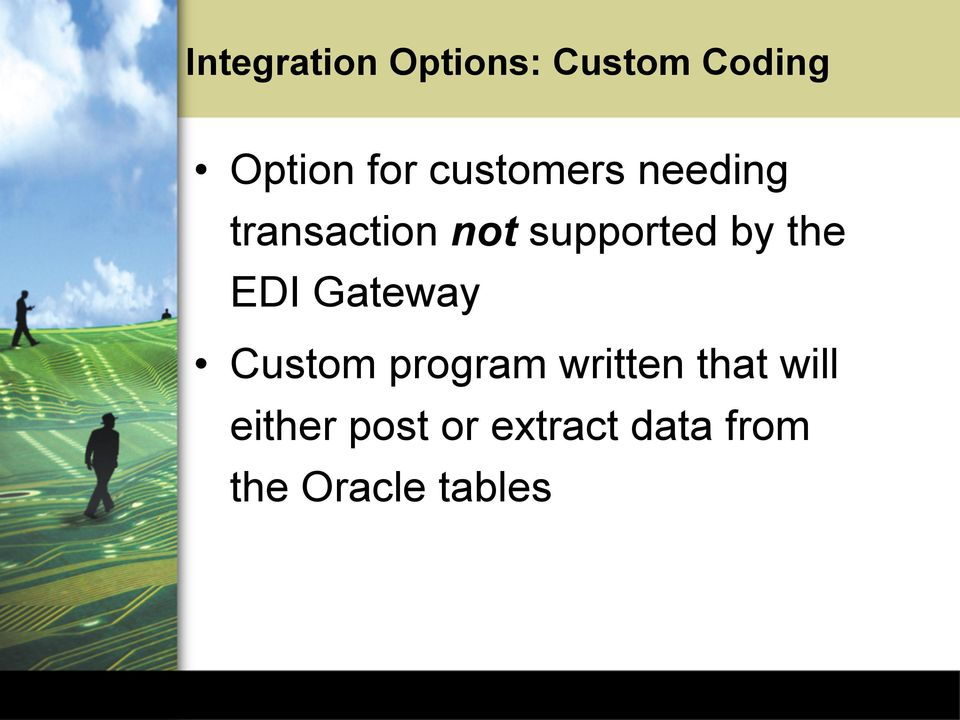 E-Commerce Application Integration with Oracle Applications - PDF