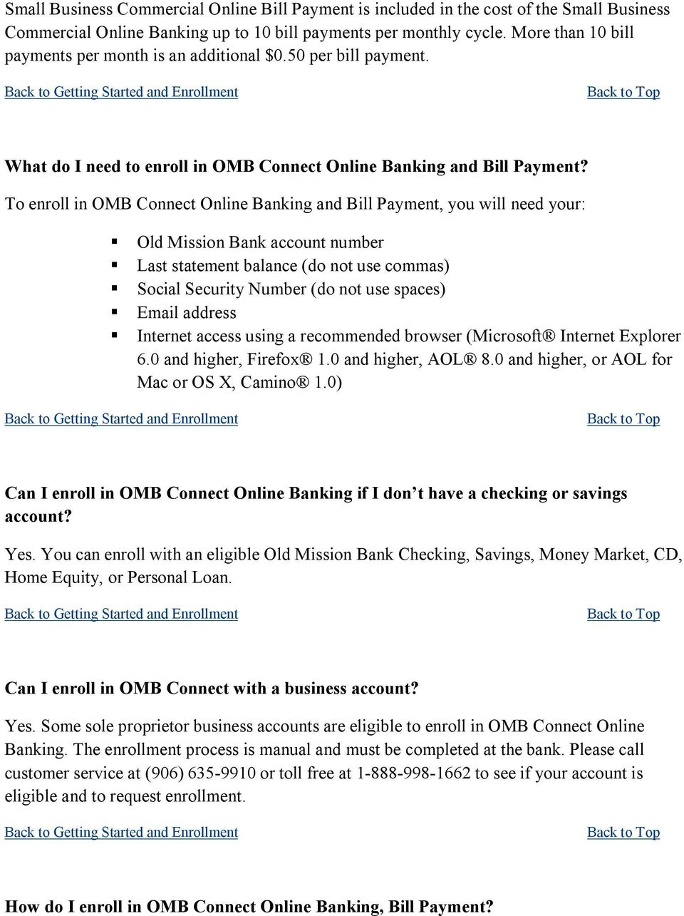 Camino Online Banking Our Faq S Will Help You Find Answers To Many Basic Online Banking