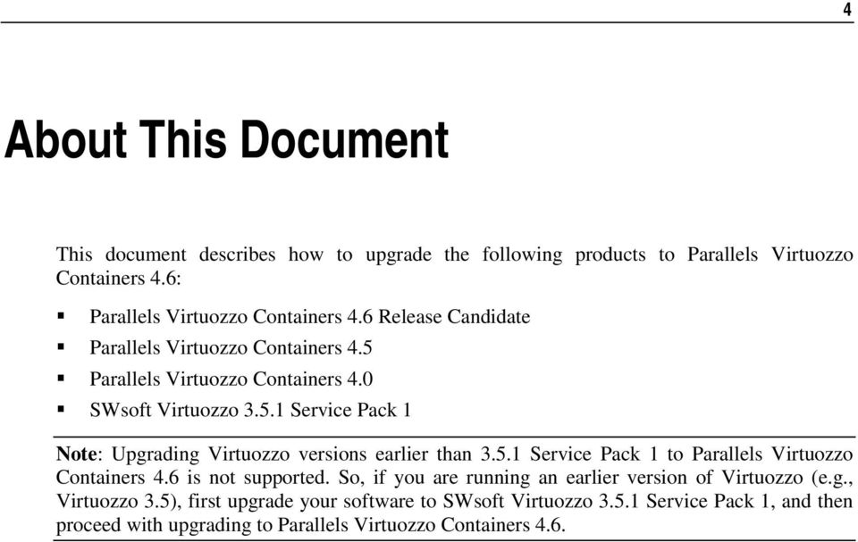 Parallels Virtuozzo Containers 46 for Windows - PDF