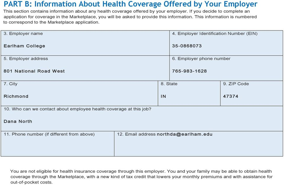 New Health Insurance Marketplace Coverage Options and Your Health