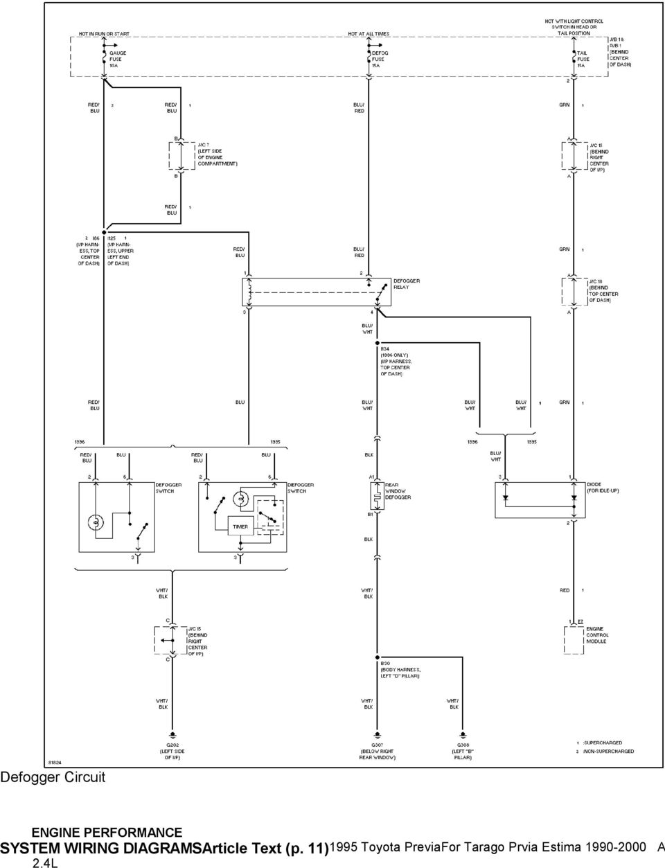 toyota estima acr50 wiring diagram