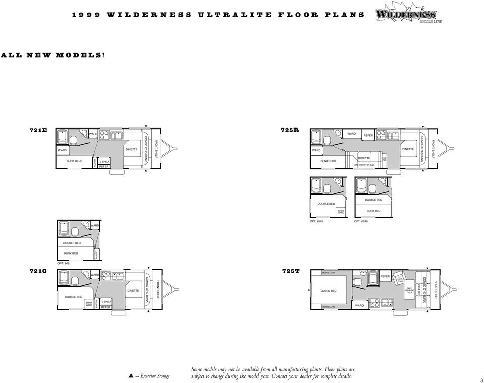 Floor Plans Specifications  Features Generations of Fun in the