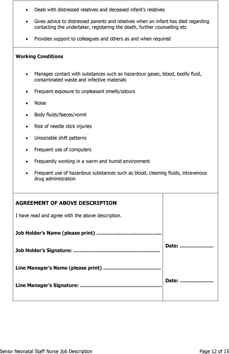 job description of clinical lead nurse cover letter templates job description of clinical lead nurse example job description for american association of manager lead nurse