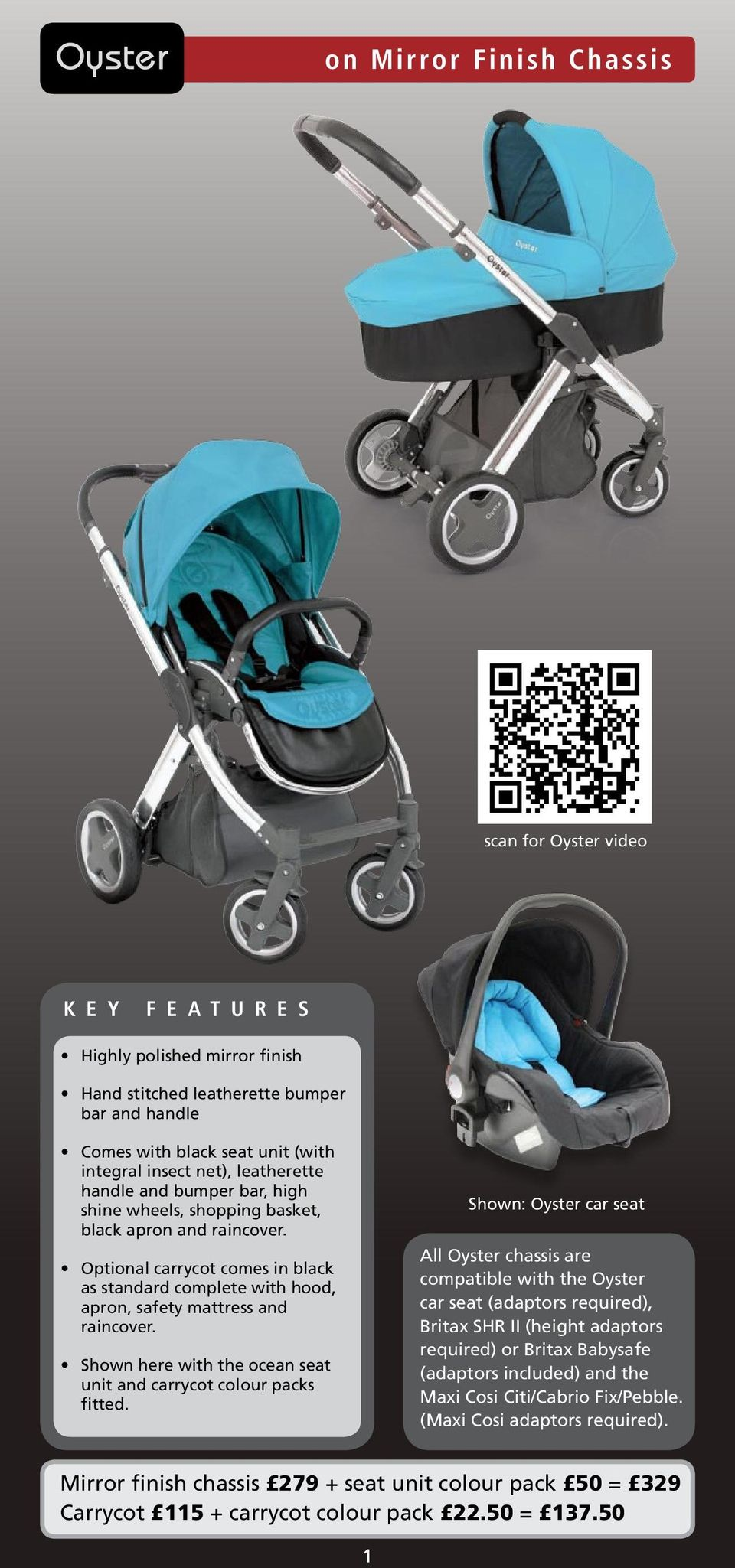 Oyster Pram Purple The Oyster Stroller Is A Multiaward Winning Pushchair