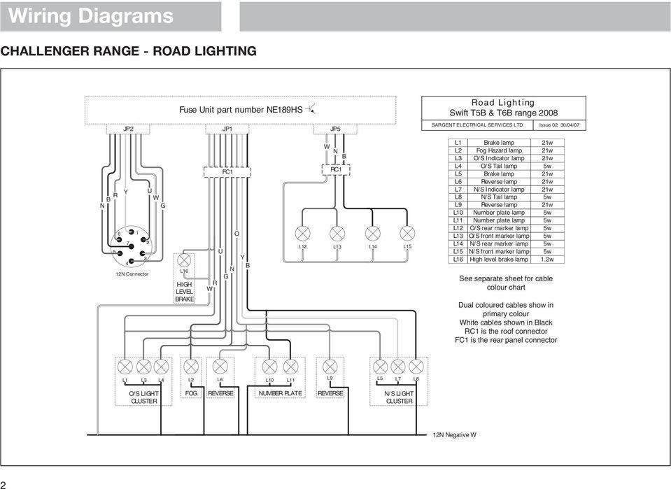 sprite caravan wiring diagram