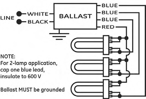 ft36w 2g11 ballast wiring diagram