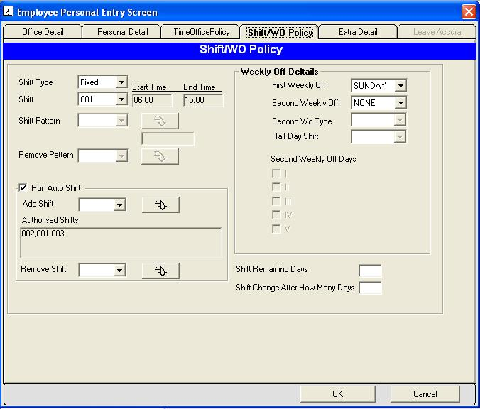 USER MANUAL FOR TIME OFFICE SOFTWARE - PDF