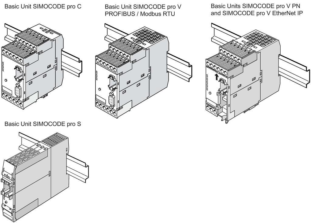 simocode pro v connection diagram
