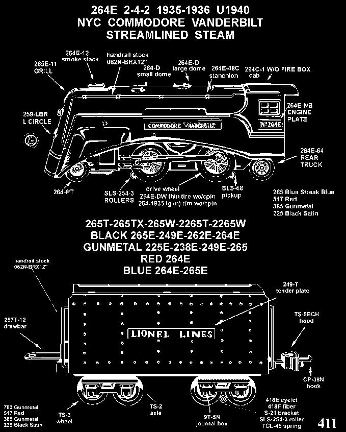 OLSEN S TOY TRAIN PARTS 1386 Bonnieview Ave LAKEWOOD, OHIO August