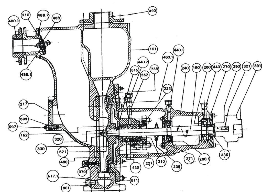 Volvo CE Diagrama del motor