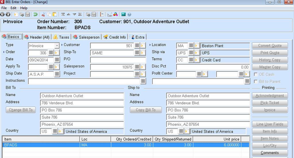 Macola ES Credit Card Integration User Guide - PDF