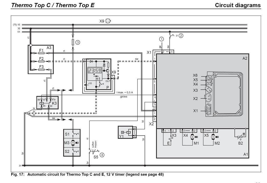 Thermotop C / E - Diesel 12v - English - PDF