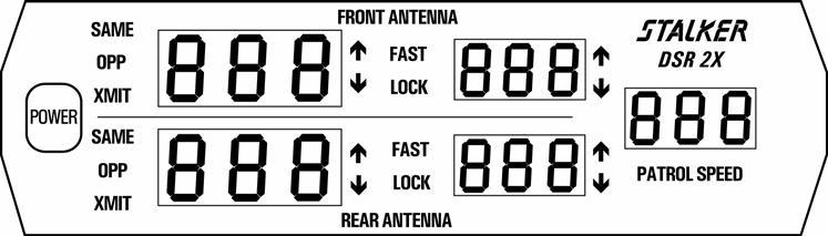 DSR 2X Direction Sensing Moving Police Radar - PDF