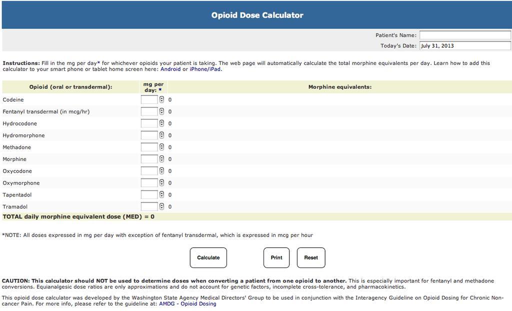 OPIOIDS FOR PAIN INTERNAL MEDICINE IMMERSION BLOCK PDF