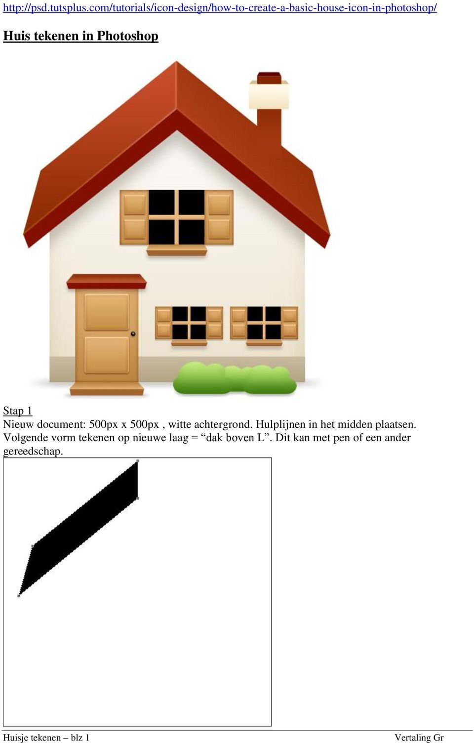 Huis Tekenen Huis Tekenen In Photoshop Pdf