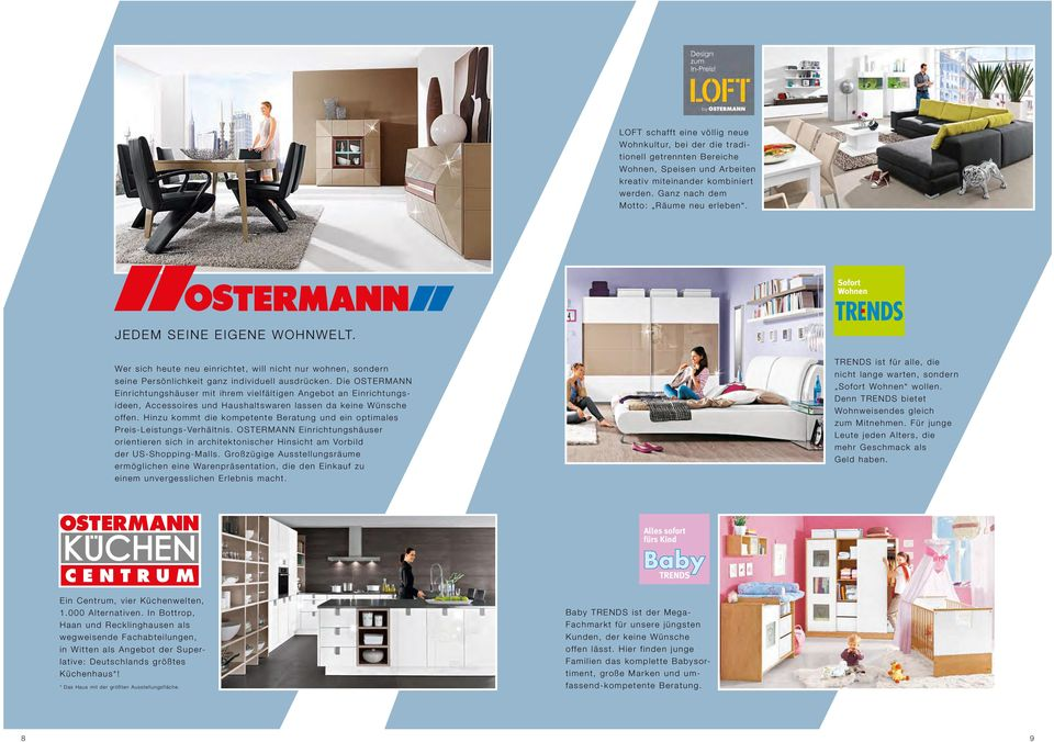 Ostermann Rauch Möbel Ostermann Recklinghausen Trends
