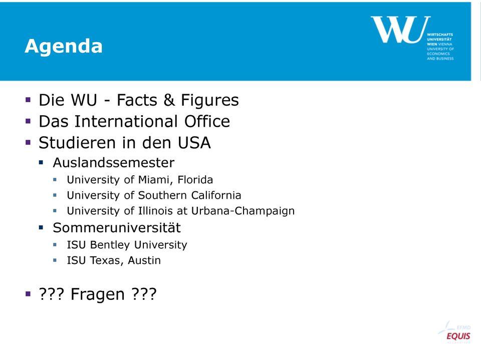 Studieren In Den Usa Während Des Studiums Am Beispiel Der Wu - Pdf