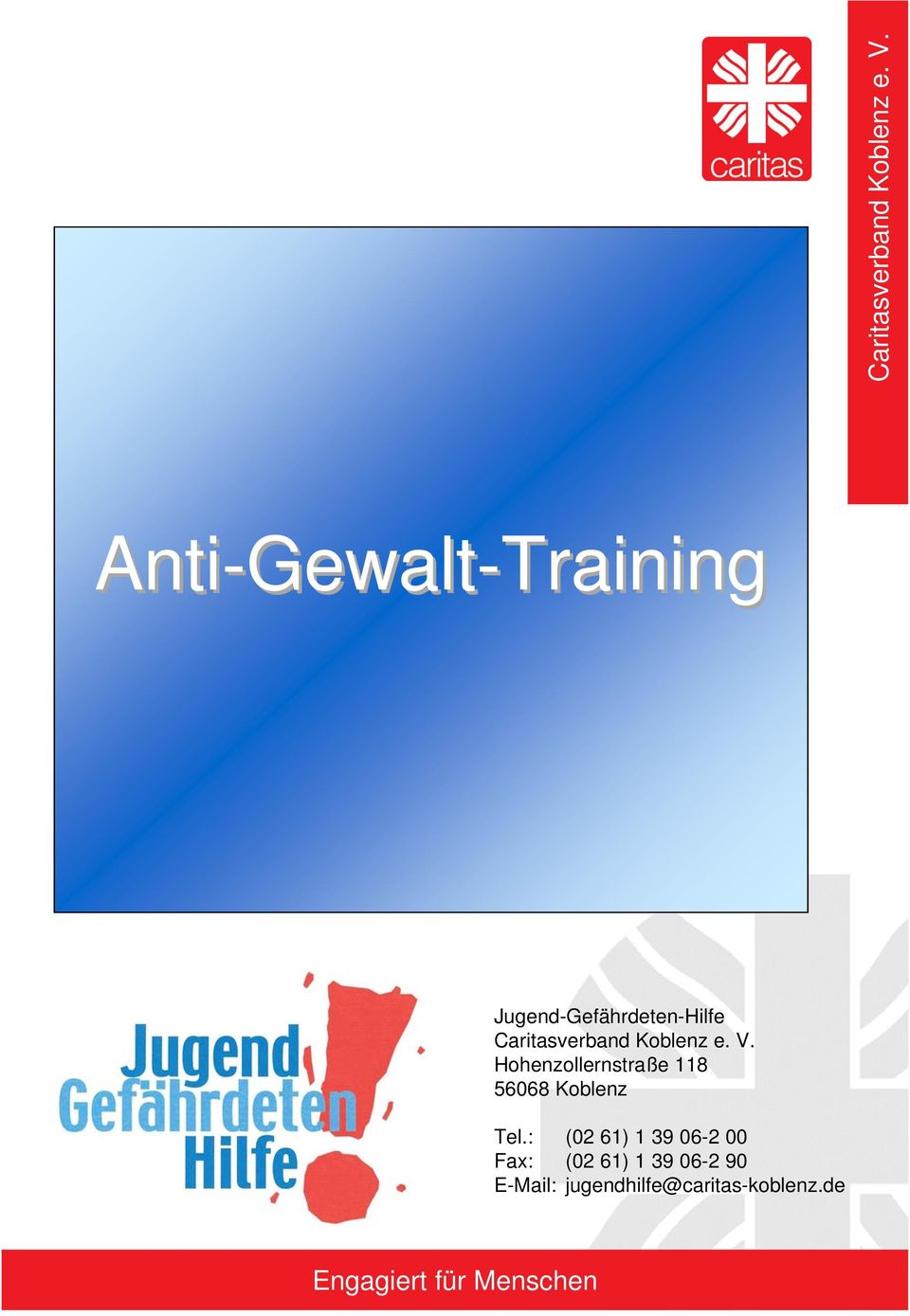 Caritas Koblenz Anti Gewalt Training Pdf