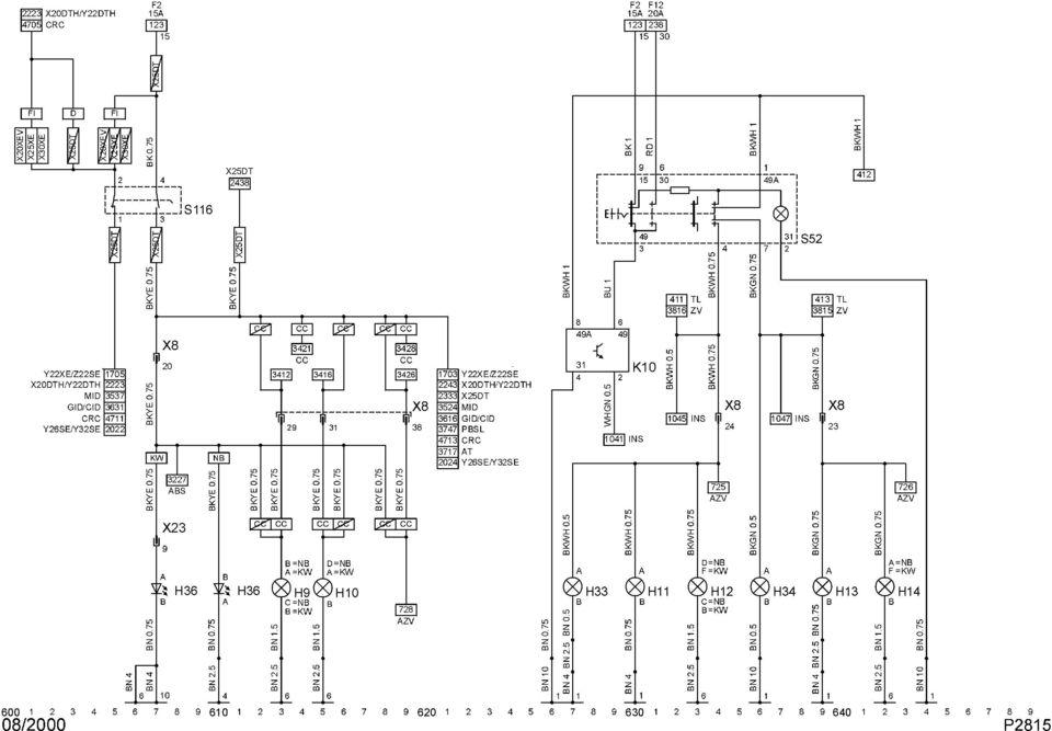 Schaltplan Abs Bmw E36