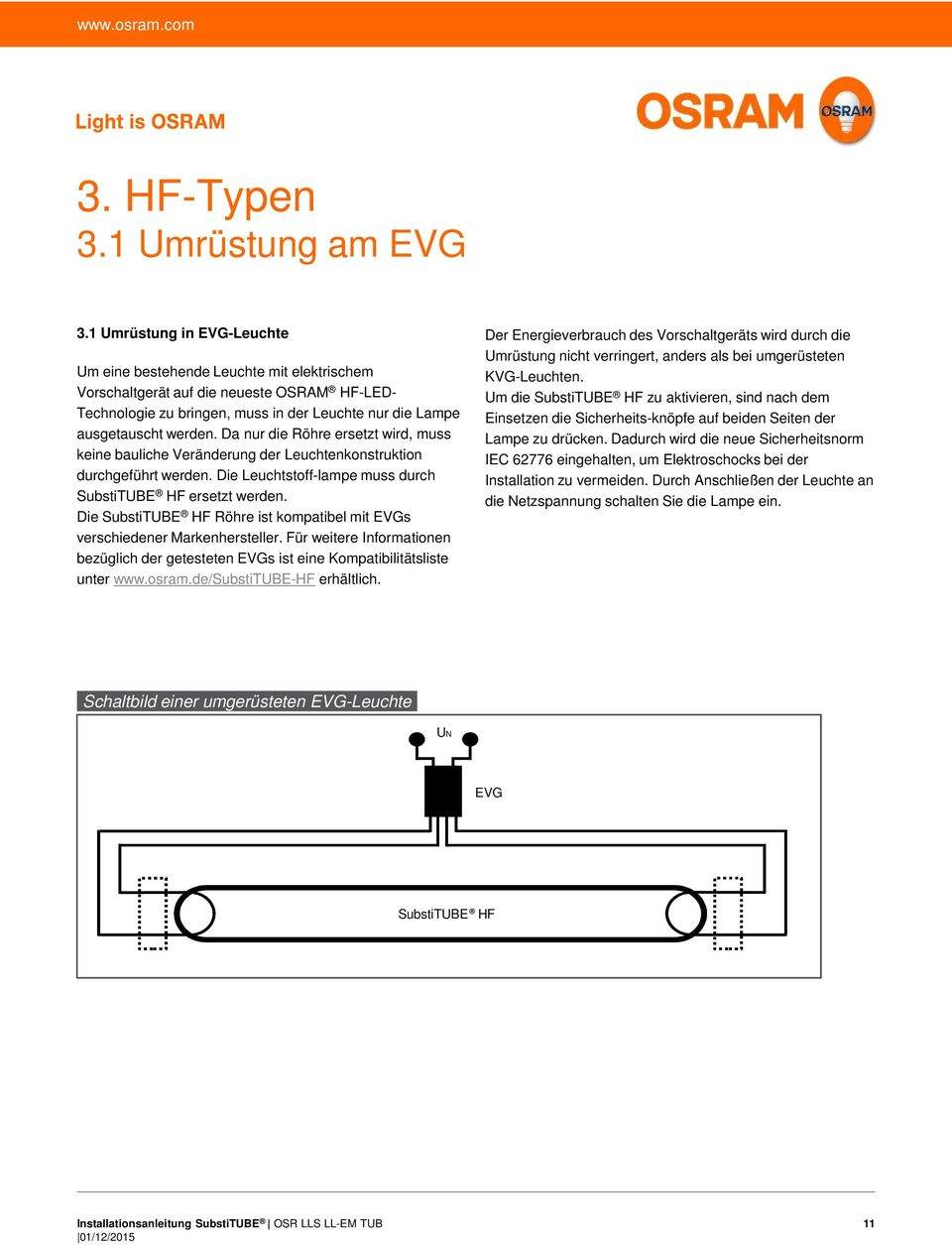 Substitube Hf Und Em Typen Pdf Free Download