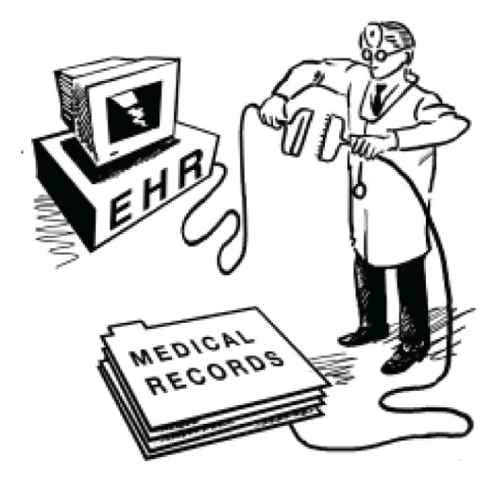 types of electronic health records ehr