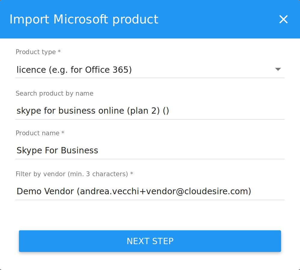 Microsoft Products Csp Products Onboarding Cloudesire Documentation