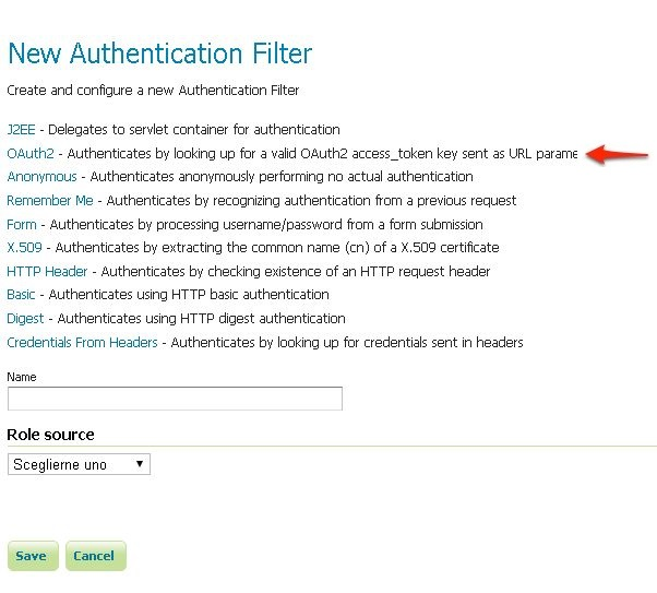 Authentication with OAuth2 \u2014 GeoServer 214x User Manual