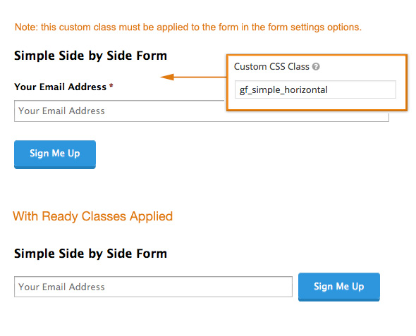 Using CSS Ready Classes - Gravity Forms Documentation