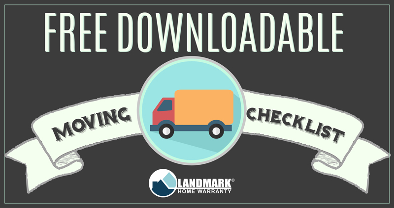 Printable, All Inclusive Moving Checklist