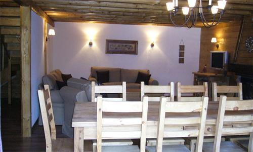 Verleih Doppelchalethälfte 6 Zimmer für 12 Personen in Les 2 Alpes - esszimmer 12 personen