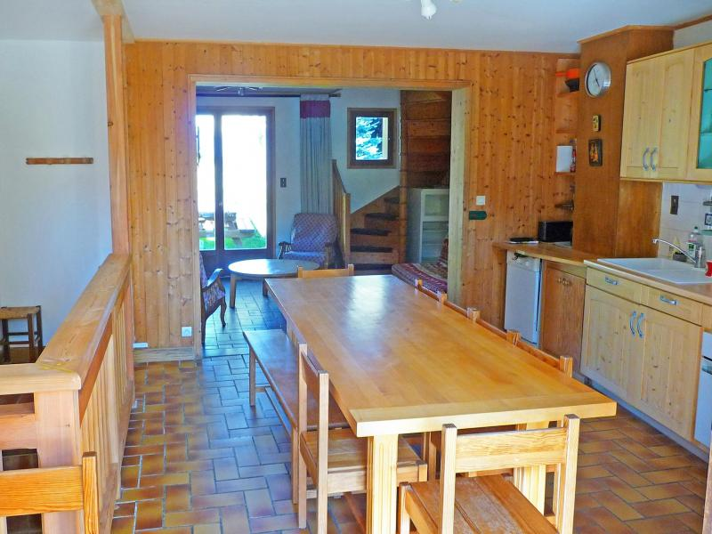 Verleih 5 Zimmer Chalet für 10 Personen in Celliers - Ski-Planet - esszimmer chalet