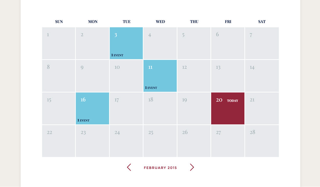 How to Calendars and Event Calendars to webpages ThemeFuse