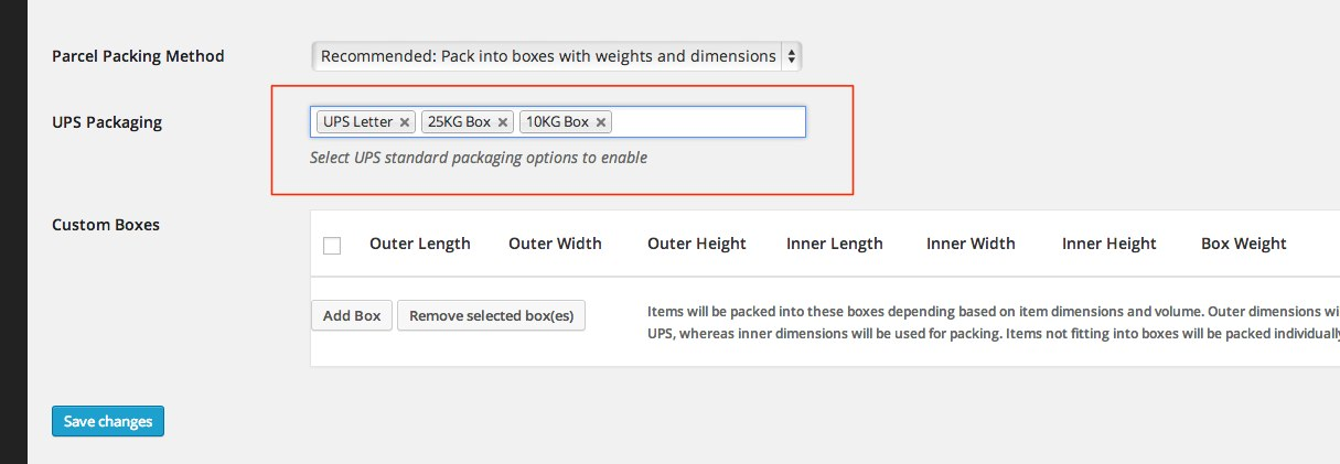 UPS Shipping Method - WooCommerce Docs