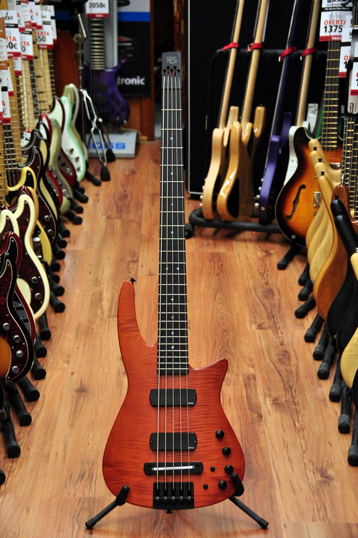 Design Radius 5 String Bass Electric Bass Luthier Online Shop Doctorbass