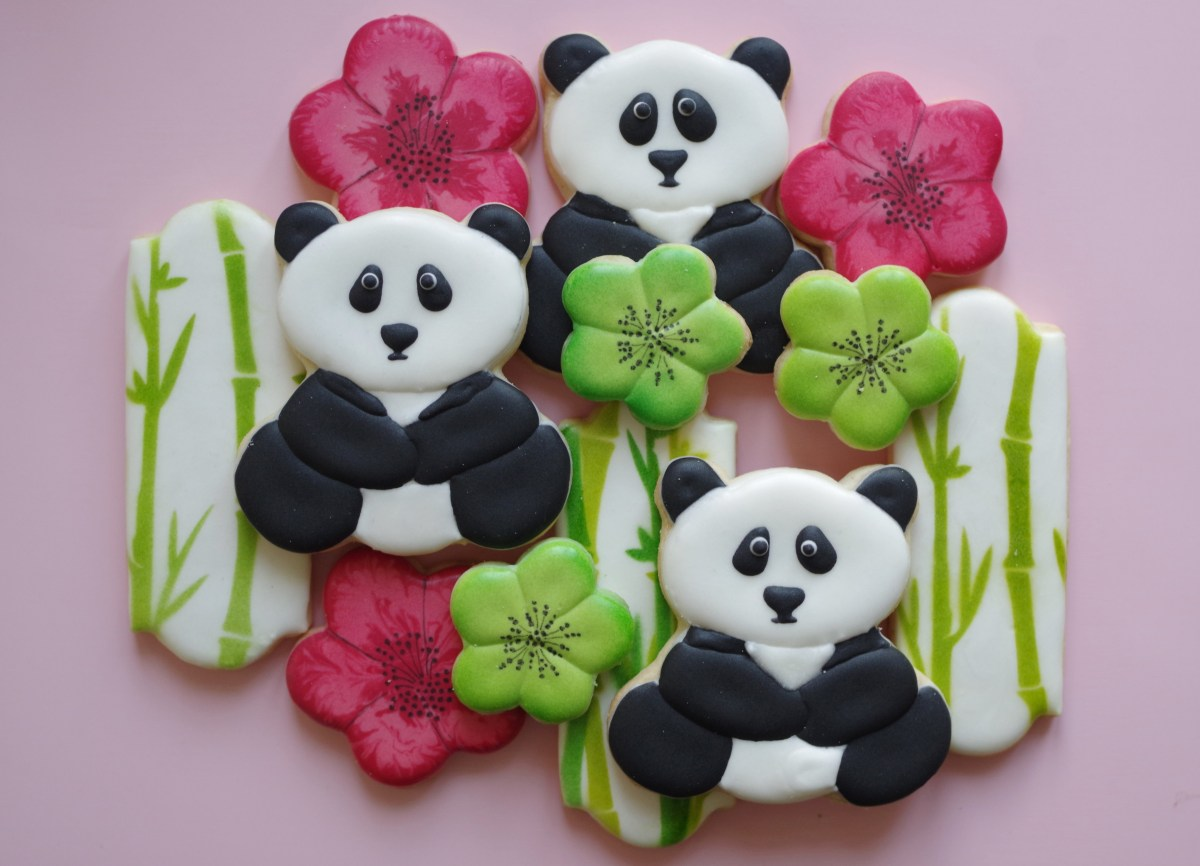 Como Decorar Galletas Con Chocolate Galletas Decoradas De Oso Panda | Doctorcookies