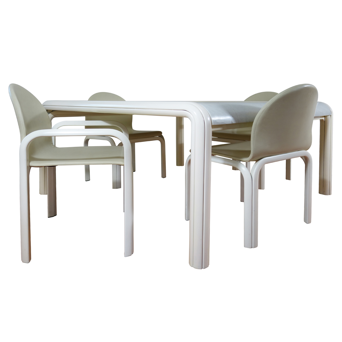 Knoll International Midcentury Dining Set Orsay Designed By Gae Aulenti For Knoll