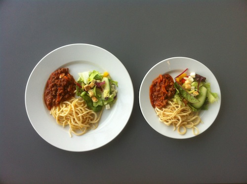 A Great Strategy For Weight Loss Use A Smaller Plate