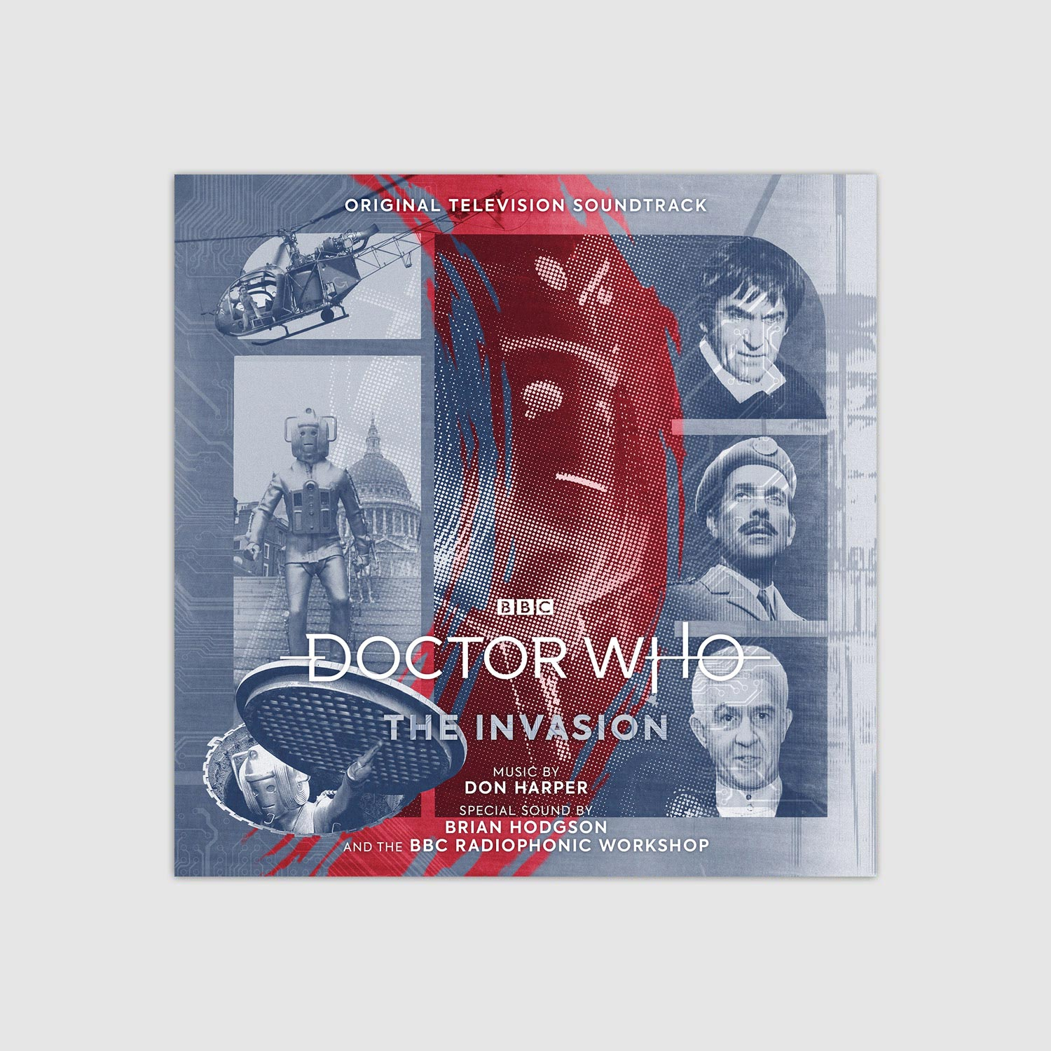 Poster Porte Pas Cher Doctor Who Music